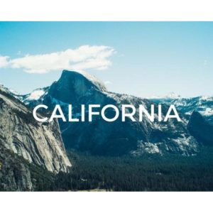 Save California, plant a tree today!