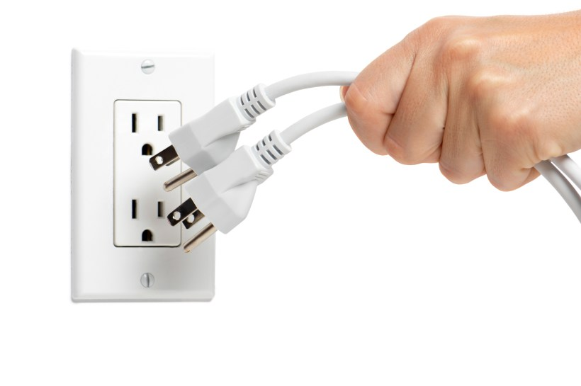 Unplug the appliances you don't use To Reduce Your Carbon Footprint