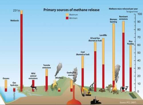 Rapid rise in methane emissions in 10 years surprises scientists