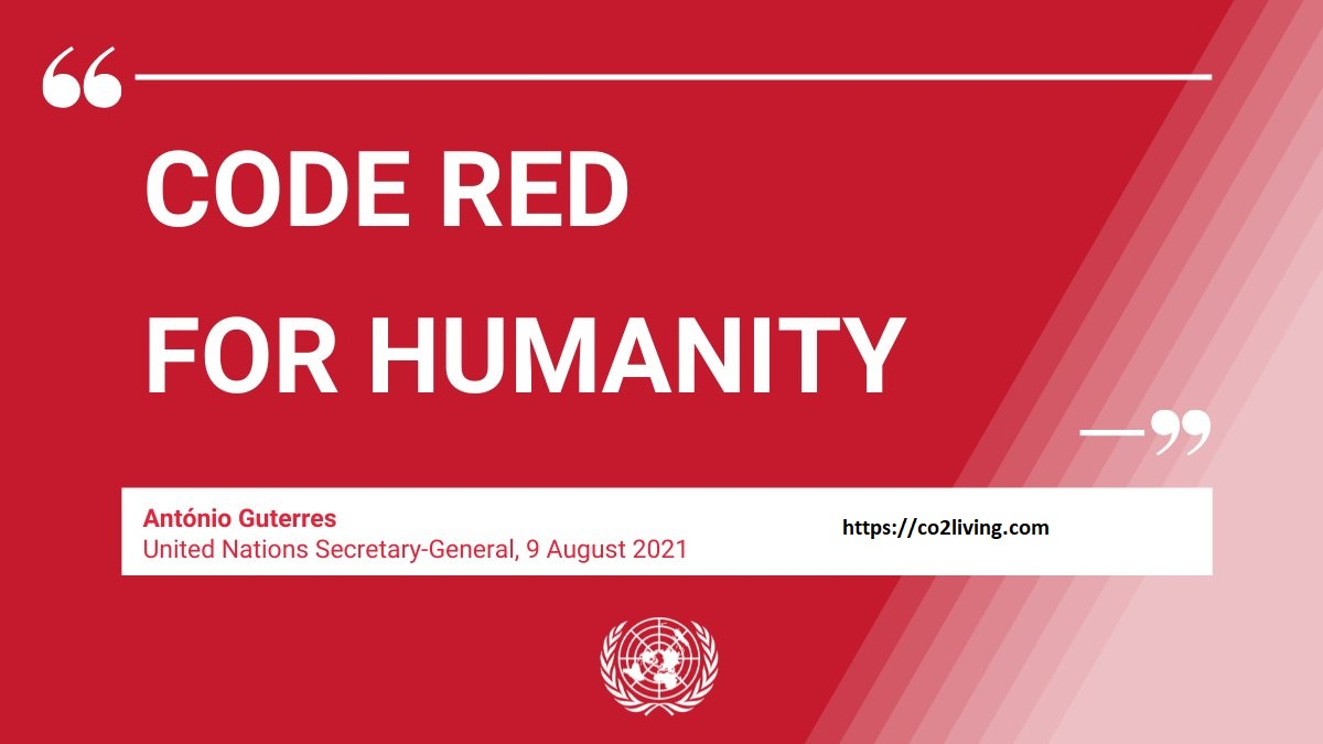 UN Climate Change Panel's Damning Report-Code Red For Humanity